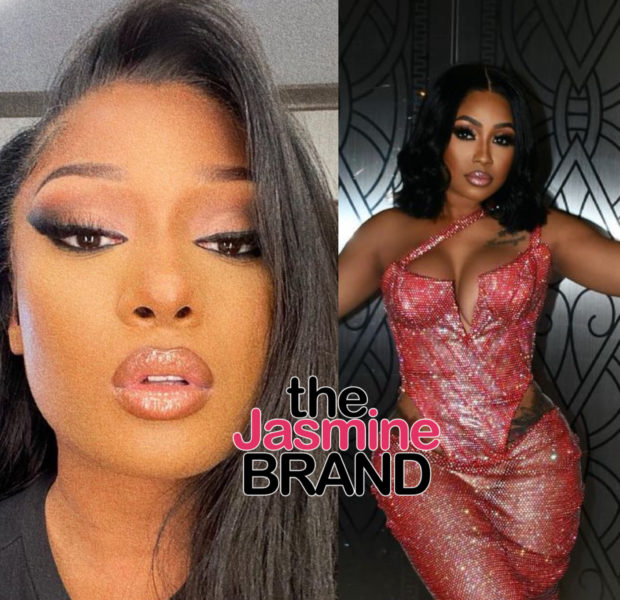 EXCLUSIVE: Megan Thee Stallion & Yung Miami Spotted Kissing At Party [VIDEO]