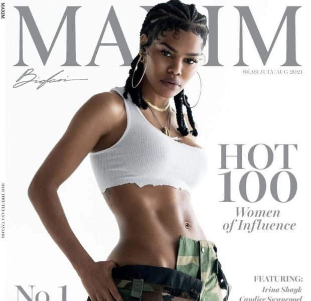 """Teyana Taylor Is The 1st Black Woman Named As Maxim's """"Sexiest Woman Alive"""""""