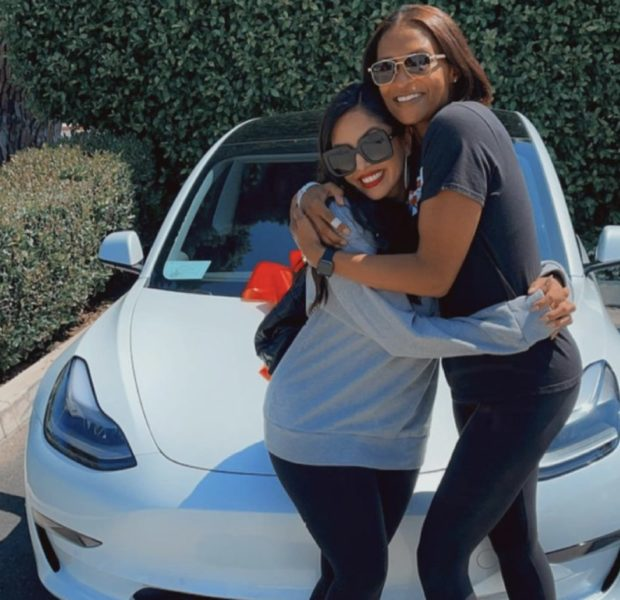 Vanessa Bryant Gifts Sister-In-Law With A Brand New White Tesla