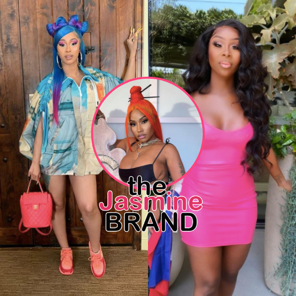 Cardi B Confronts Jessie Woo For Alleging Her Team Wanted To 'Take Out Nicki Minaj', Shares DMs: Here You Go Lying