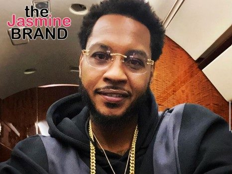 Carmelo Anthony Allegedly Fathered Newborn Twins, Woman Claims + Says Babies Were Premature & He Abandoned Them