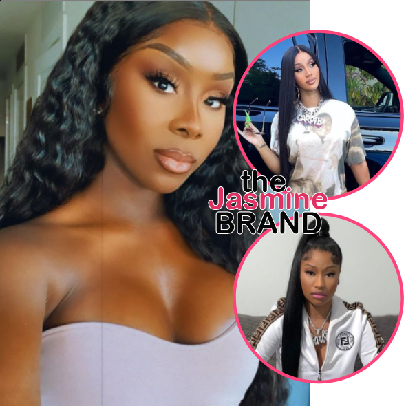 Media Personality Jessie Woo Claims Someone From Cardi B's Team Told Her They Wanted To End Nicki Minaj's Career In 2017, Cardi Responds: The Lies!
