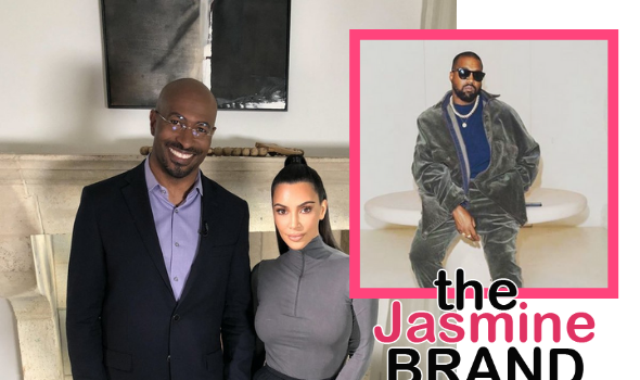 Kim Kardashian Denies Rumors She's Dating Van Jones + Says Kanye West Divorce Sparked From A 'General Difference Of Opinion'