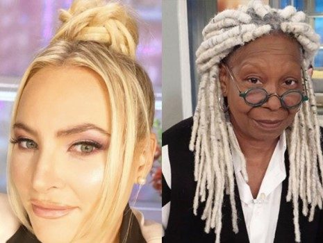 Whoopi Goldberg & Meghan McCain Get Into Another Heated Back-And-Forth On 'The View' [WATCH]