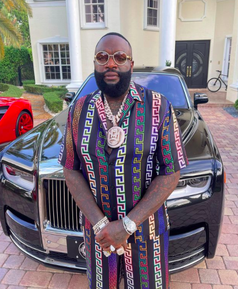 Rick Ross Reveals He Does Not Have A Driver's License Despite Owning 100 Cars, Recently Began The Process Of Acquiring One [WATCH]