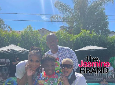 Tamar Braxton & Ex-Husband Vincent Herbert Celebrate Their Son's 8th Birthday Together: Things Aren't Perfect But They're Great!
