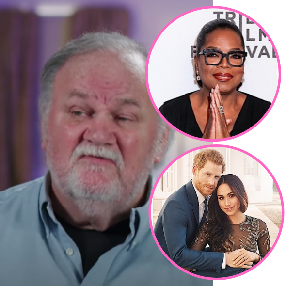 Meghan Markle's Dad Accuses Oprah Of Exploiting His Daughter & Prince Harry: She's Using Them To Build Her Network & New Shows