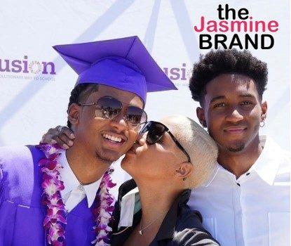 Toni Braxton's Son Diezel Graduates High School, Headed To Howard University In The Fall