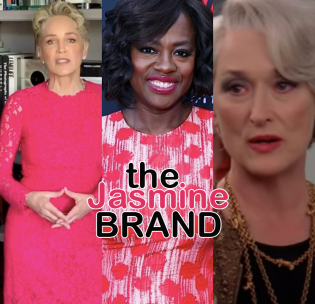 Sharon Stone Says Viola Davis 'Is Every Bit The Actress Meryl Streep Is' & Trends Online As Fans Seemingly Agree With Her