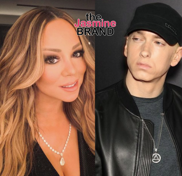 Mariah Carey Seemingly Shades Eminem In Video Celebrating The Anniversary Of Her Song 'Obsessed'