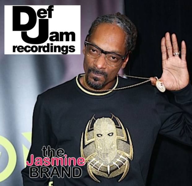 Snoop Dogg Signs On To Def Jam Records As Executive Consultant: Def Jam Was The Holy Grail Of Hip-Hop