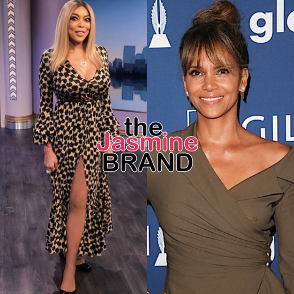 Wendy Williams Reveals She Didn't Wash Her Boob For 2 Weeks After Halle Berry Flicked It In 2012