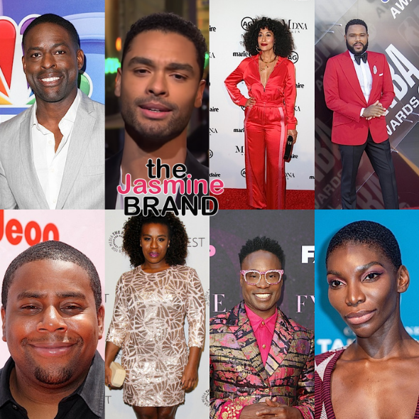 Emmy Nominations 2021: Sterling K. Brown, Regé-Jean Page, Tracee Ellis Ross, Anthony Anderson, Kenan Thompson, Uzo Aduba,  Billy Porter, Michaela Coel & More Receive Nods