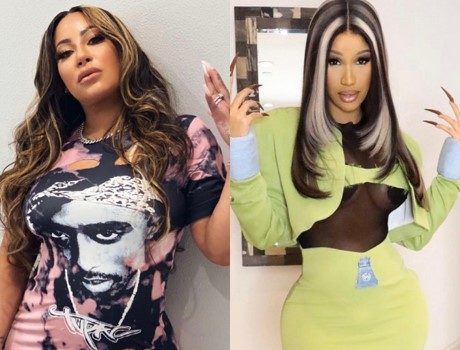 Hazel-E Claims Her Daughter's Princess-Themed Party Was Copied & Says 'I Was The First Rapper To Do It', Fans Speculate She's Referring To Cardi B [PHOTOS]