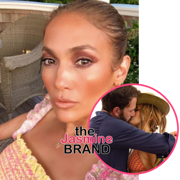 Jennifer Lopez Kisses Ben Affleck As She Goes Public W/ Their Relationship