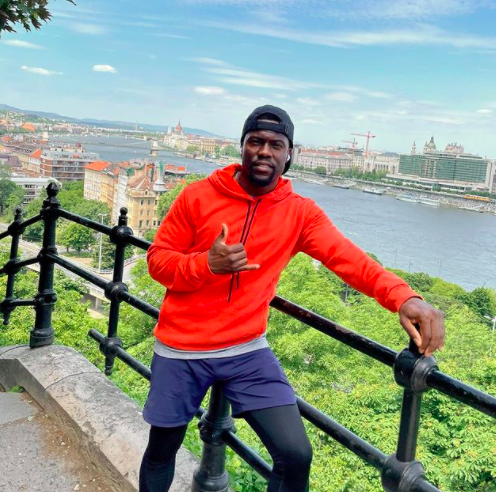 Kevin Hart Declined Offer To Go To Space Because He Didn't Feel Safe, Says He'll Consider It When 'I've Lived Life & My Kids Are A Certain Age'