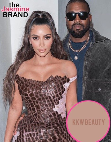 Kanye West Reportedly Assisted Kim Kardashian W/ KKW Beauty Rebrand Amid Pending Divorce