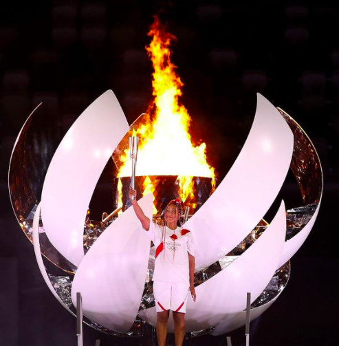Naomi Osaka Lights Olympic Cauldron To Kick Off Tokyo Games, Says It's 'The Greatest Athletic Achievement I Will Ever Have'