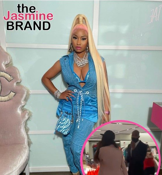 Nicki Minaj Tracks Down Mall Security Guard Who Let Fan Perform 'Whole Lotta Money': I Want To Send Him A Gift For Being Such A Sweetheart!