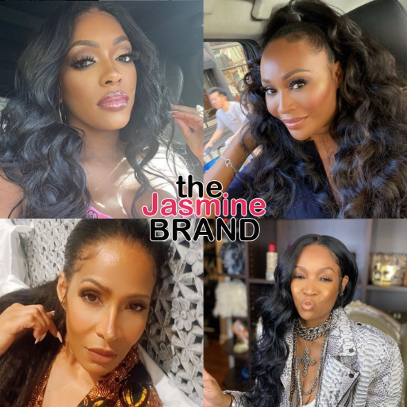 Porsha Williams Reportedly 'Seriously Considering' Leaving 'RHOA', Cynthia Bailey Possibly Not Returning + Sheree Whitfield Making A Comeback, Marlo Hampton Could Get Her Peach