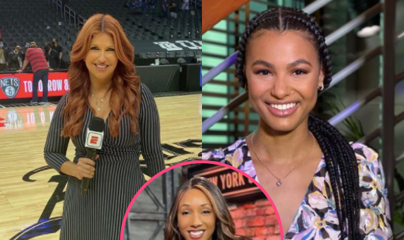 ESPN's Rachel Nichols Replaced By Malika Andrews On NBA Finals Sideline After She Alleged Maria Taylor Got Promoted Because She's Black In Leaked Audio