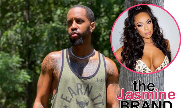 Safaree Samuels Claims Erica Mena Poured Bleach On $30,000 Worth Of Sneakers & Damaged 3 Motorbikes While 8 Months Pregnant