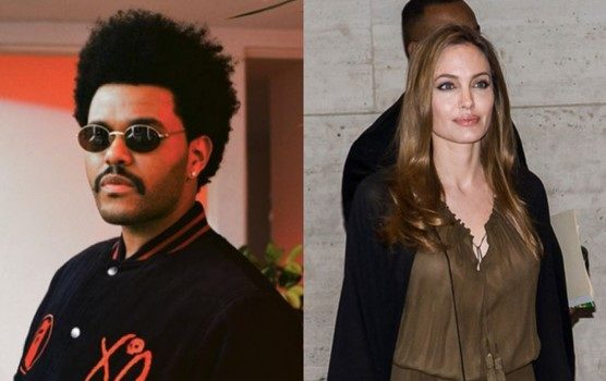 The Weeknd & Angelina Jolie Spark Dating Rumors After Being Spotted At Dinner Together