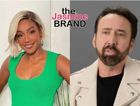 Tiffany Haddish Says She Was 'Intimidated' By Nicholas Cage On Set Of Upcoming Film Because She Had 1st Orgasm To One Of His Movies