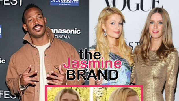 Marlon Wayans Says The Hilton Sisters Were The Inspiration Behind The Cult Classic Film 'White Chicks'