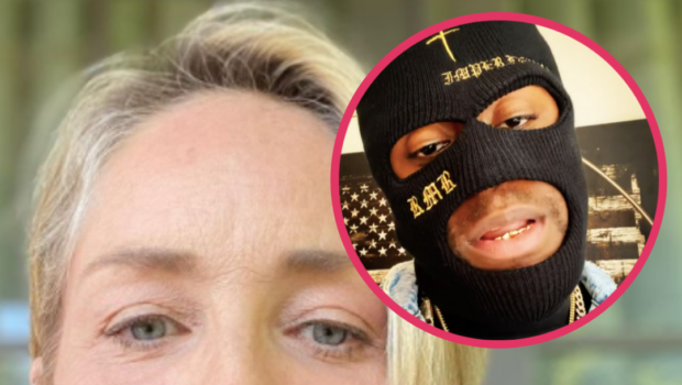 Sharon Stone Laughs Off Rumors She's Dating Rapper RMR