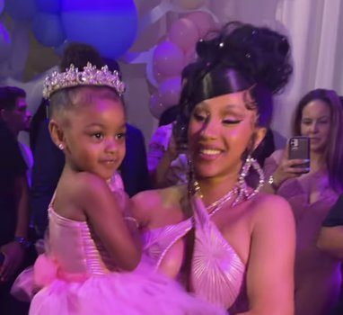 Cardi B & Offset Throw Daughter Kulture An Extravagant 3rd Birthday Party [VIDEO]