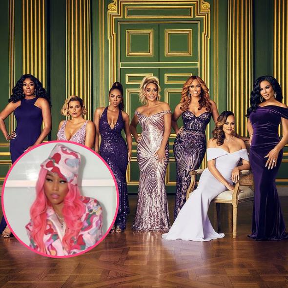 Nicki Minaj To Host 'RHOP' Reunion!