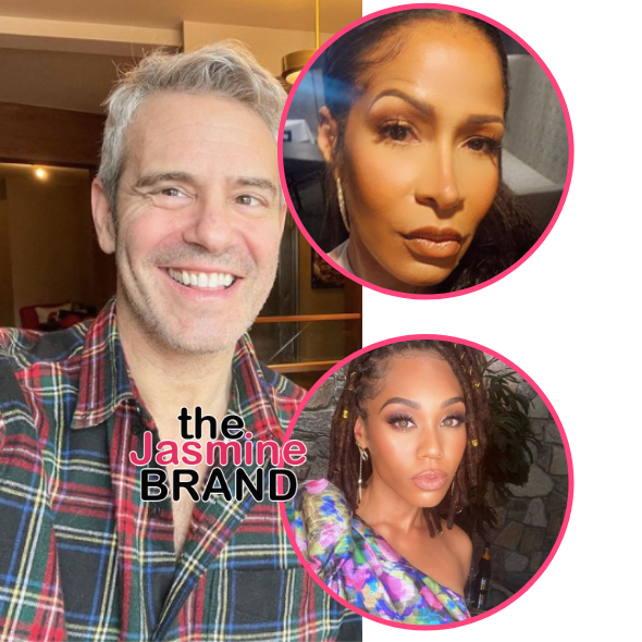 Andy Cohen Says 'I Always Love Sheree Whitfield' When Asked About Her Rumored Return To 'RHOA' + Thinks 'Monique Samuels Would Be Fun' On 'RHOP'