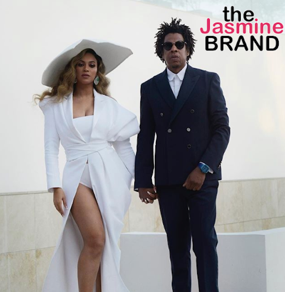 Beyonce & Jay-Z Criticized After Posing With Basquiat Painting In A Tiffany And Co. Ad