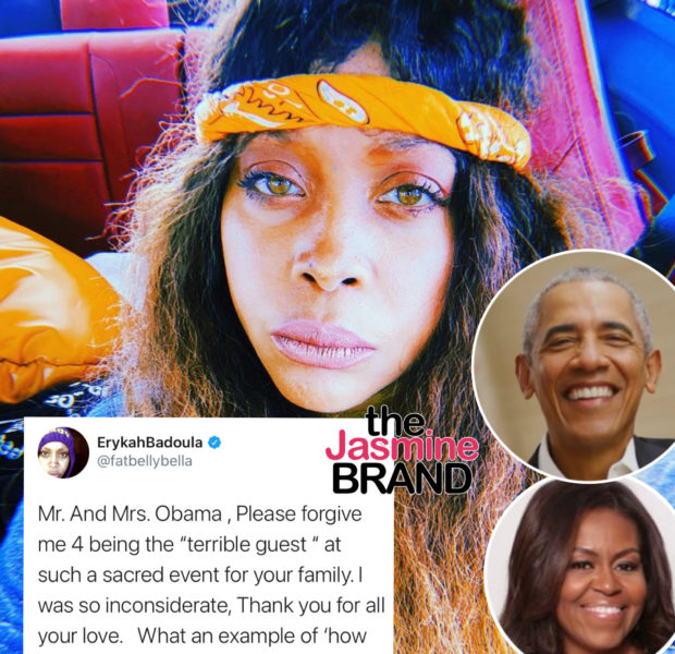 Update: Erykah Badu Apologizes To Michelle & Barack Obama: Forgive Me For Being The Terrible Guest … I Was Inconsiderate