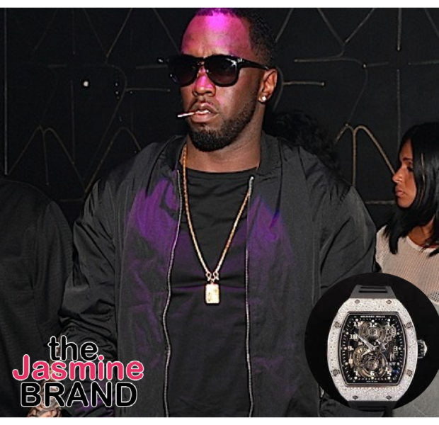 Diddy Says The Richard Mille Watch Is Ugly: Black Men Save Your Money & Go Buy A House