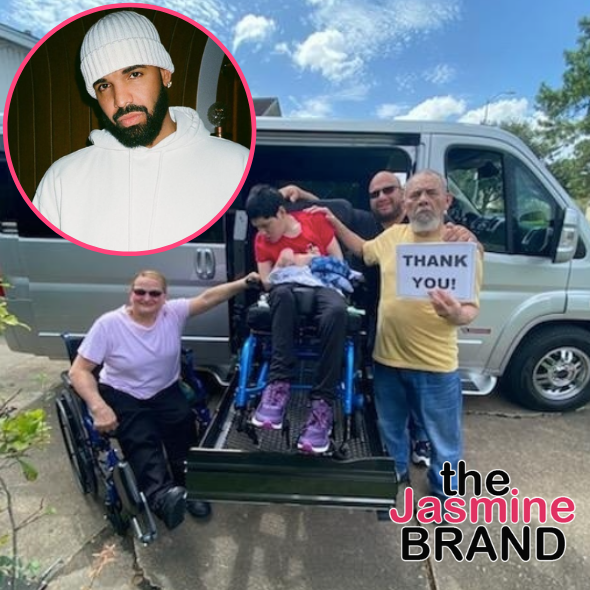 Drake Gifts Fan's Sister With Wheelchair Accessible Van