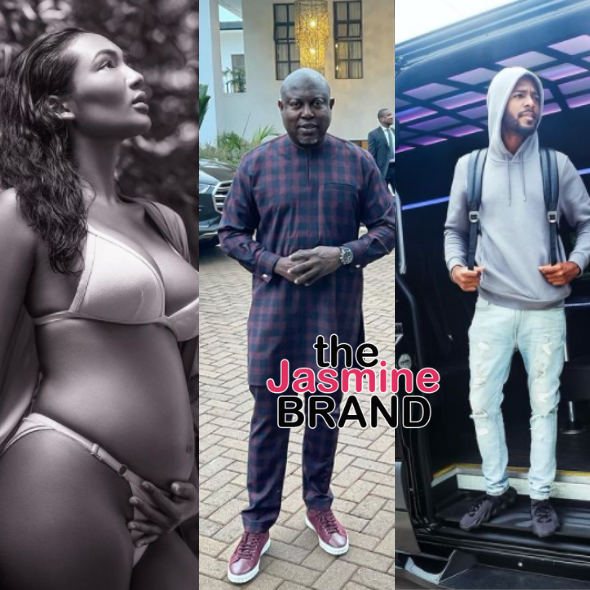 Falynn Pina Shares 1st Maternity Photo As Her Ex-Husband Simon Guobadia Calls Out Black Dads Who Don't Provide For Their Kids + Falynn's Baby Daddy Seemingly Chimes In