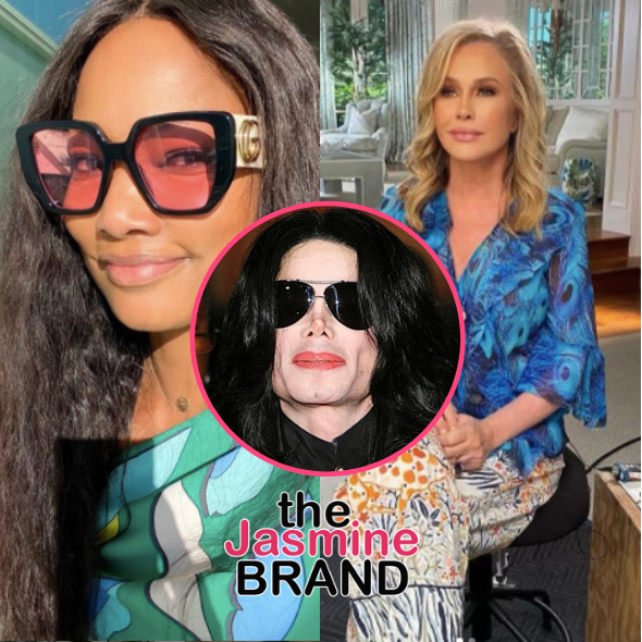 Garcelle Beauvais Educates 'RHOBH' Co-Star Kathy Hilton After She Claims Michael Jackson Told Her 'I Don't See Color' + Hilton Says 'I Told Him We Don't Either'