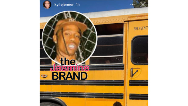 Travis Scott Sweetly Surprises His & Kylie Jenner's Daughter With School Bus: It's All She's Been Talking About