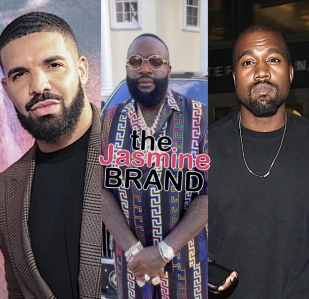 Rick Ross Had Words To Say About Drake And Kanye's Rumored Beef: It's Genius! They're Both Inspiring Each Other