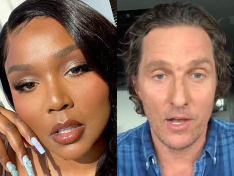 Lizzo Sides W/ Matthew McConaughey & Reveals She Does Not Use Deodorant – I Began Smelling Better Once I Stopped