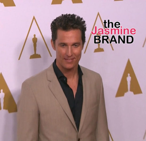 Matthew McConaughey Does Not Wear Deodorant & Co-Stars Say He Does Not Have An Odor