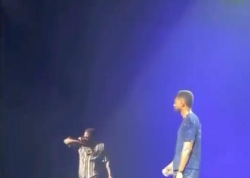 Kevin Hart Crashes Usher's Las Vegas Performance [VIDEO]