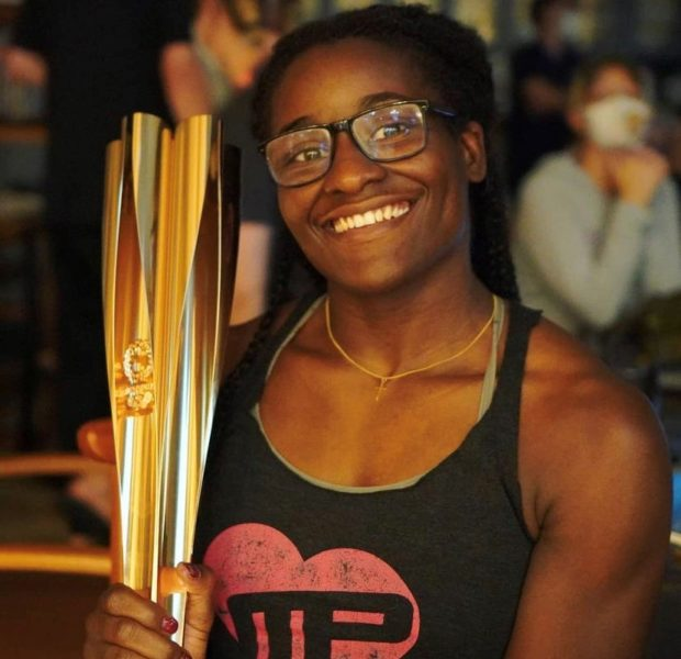 Tokyo Olympics –  Tamyra Mensah-Stock Is The 1st Black Woman To Win A Gold Medal In Wrestling