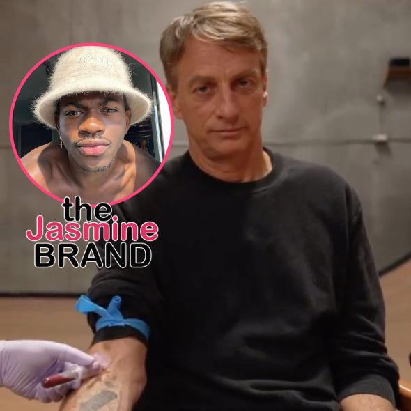 Lil Nas X Calls Out Lack Of 'Public Outrage' Over Tony Hawk's Blood-Infused Skateboards After His 'Satan Shoes' Controversy: Are Y'all Ready To Admit Y'all Were Mad For Some Other Reason?