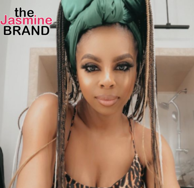 EXCLUSIVE: Candiace Dillard-Bassett Defends Wendy Osefo's Plastic Surgery, Calls Out Mia Thornton's 'Lies' + Says 'Karen Is For Karen' While Speaking On 'RHOP' Co-Stars