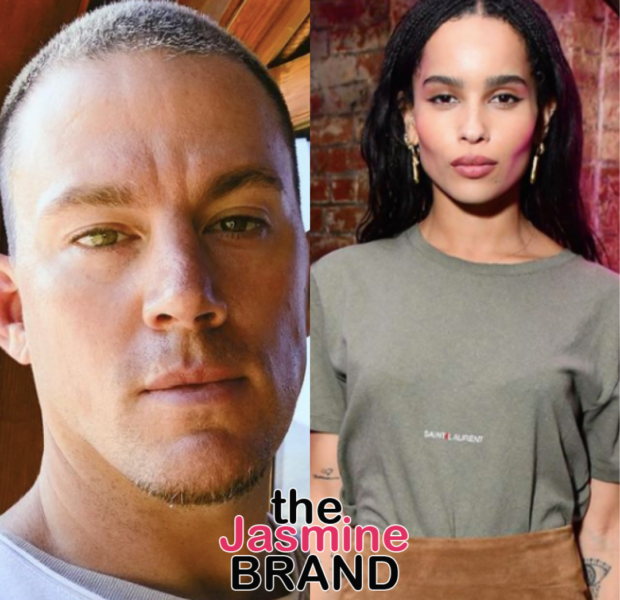 Channing Tatum & Zoë Kravitz Spark Dating Rumors After Cozy NYC Outing
