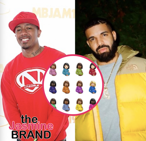 Nick Cannon Fans Joke That Drake's 'Certified Lover Boy' Release Date Image Featuring Several Pregnant Emojis Is About Him