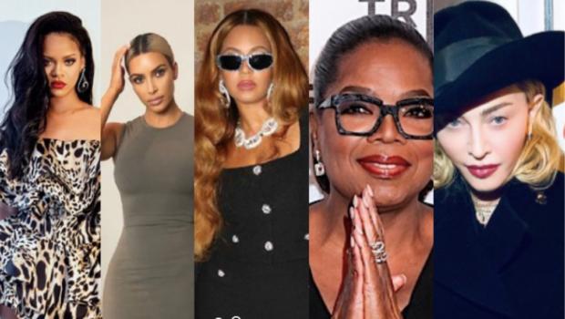 America's Richest Self-Made Women: Rihanna, Kim Kardashian, Beyoncé, Oprah Winfrey & Madonna Make The List
